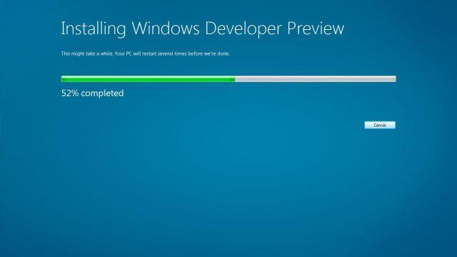 Menginstal langsung dari Windows 7
