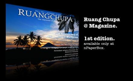 Ruang Chupa Magazine