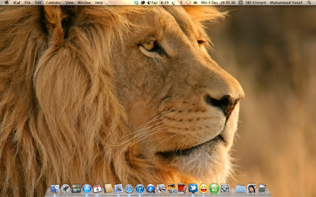 Desktop Mac OS X Lion