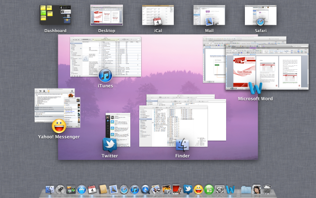 Mission Control di Mac OS X Lion